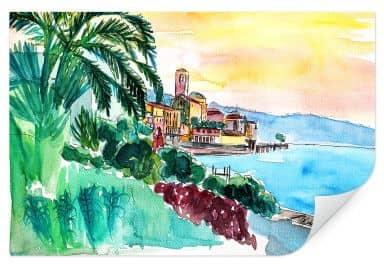 Wallprint Bleichner - Wonderful Lago Maggiore