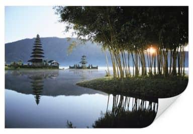 Wallprint W - NG Pura Ulun Danu Bratan Tempel Bali