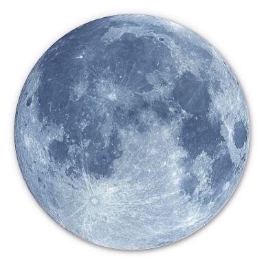 Alu-Dibond Moon Complete - Round
