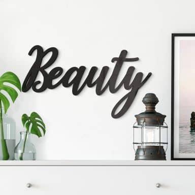 Scritta in acrilico – Beauty