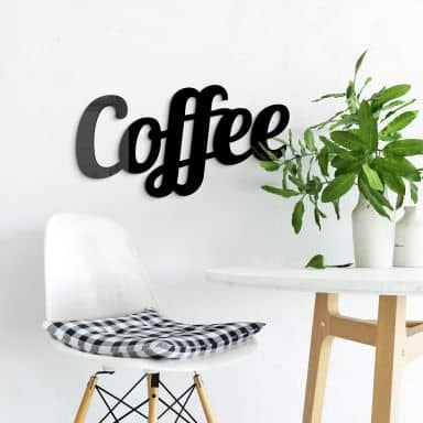 Coffee (black) Acrylic letters