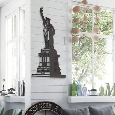 Acryldeko Freiheitsstatue