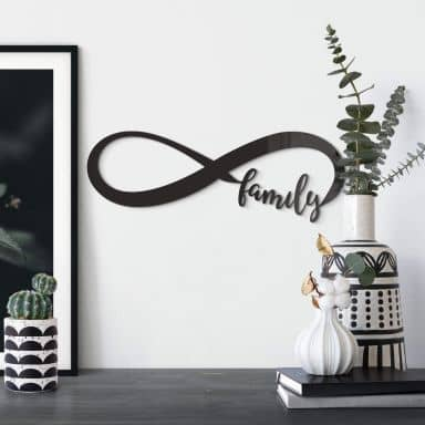 Acrylic Letters Endless Family