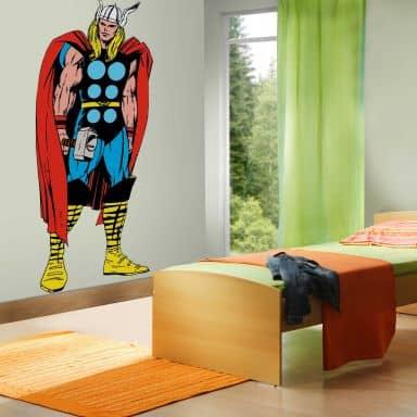 Wandsticker Marvel Comics - Thor