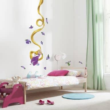 Wandsticker-Set  Disneys Rapunzel 15-teilig
