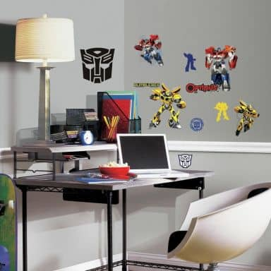 Wandsticker - Set Transformers Autobots