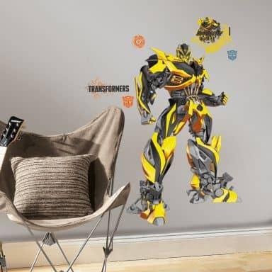 Wandsticker Transformers Bumblebee