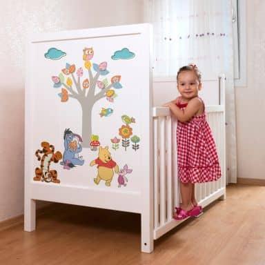 Adesivo murale - Winnie the Pooh naturara