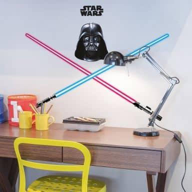 Muursticker Darth Vader & Lichtzwaard