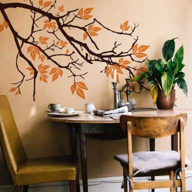 Branch 2 Two Colour Wall Sticker