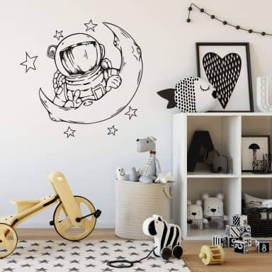 Wall sticker Astronaut