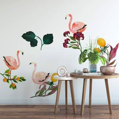Wall Sticker Blanz - Flamingo Set