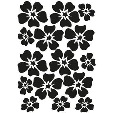Wandtattoo Blüten-Set 9