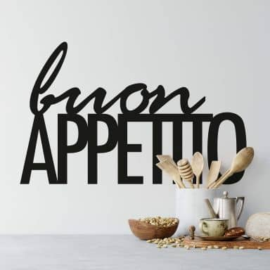 Sticker mural Buon Appetito 02