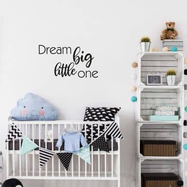 Wall sticker Dream Big little one