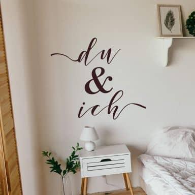 Wallsticker -  Du og jeg