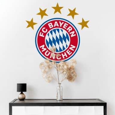 Wandtattoo FC Bayern München Logo