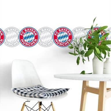 Wandtattoo FC Bayern Bordüre