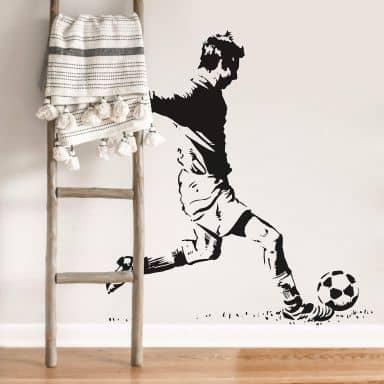 Sticker mural - Joueur de Football 2
