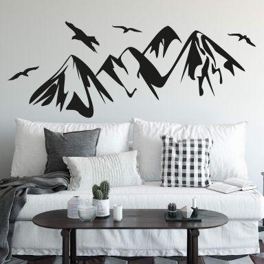 Wall sticker Mountains