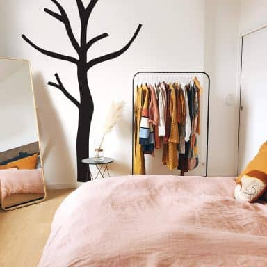 Wall sticker Winter Tree