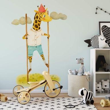 Adesivo murale Loske - Giraffa