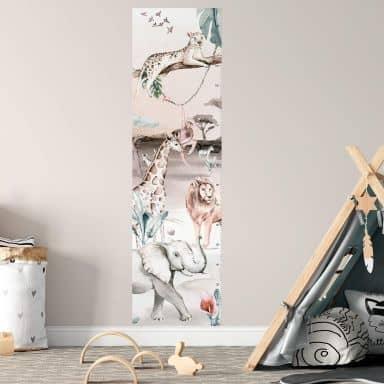 Adesivo murale Kvilis Giungla 45x160 cm
