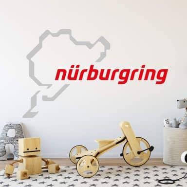 Muursticker Nürburgring Logo