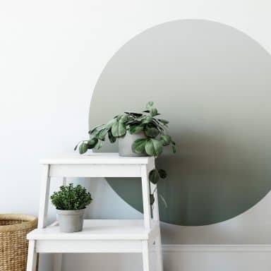 Adesivo murale - Ombre oliva