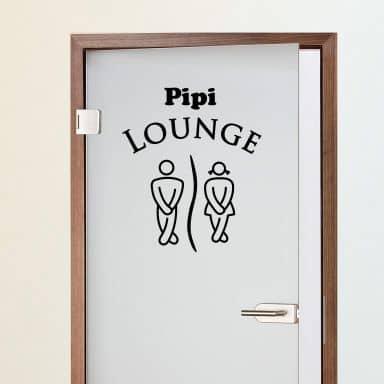 Sticker mural - Pipi Lounge 2