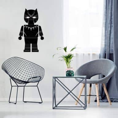 Wandtattoo Gomes - Black Panther Spielzeug