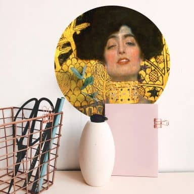 Sticker mural Klimt - Judith avec la tête d'Holopherne