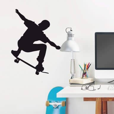 Adesivo murale - Skateboarder 05