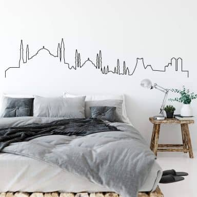 Wandtattoo Istanbul Skyline Outline