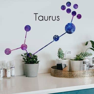 Wandtattoo Sternbild Taurus - Stier