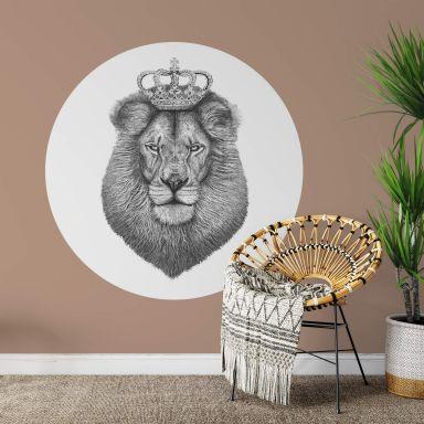 Wandtattoo Korenkova - The Lion King - Rund