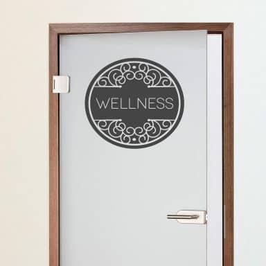 Wellness - Wall Sticker