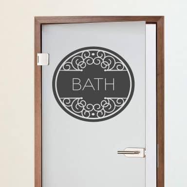Sticker mural - Bath