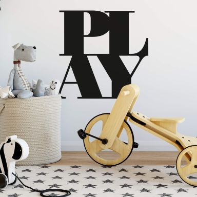 Wallsticker - Typo-Play