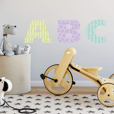 Wall sticker character - create your own word or name