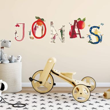 Wall sticker Leffler Name sticker
