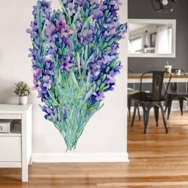 Wall sticker XXL Lavender bouquet