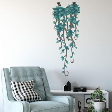 Wall sticker Hanging Plant