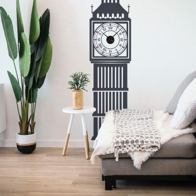 Big Ben Wall sticker + Clock