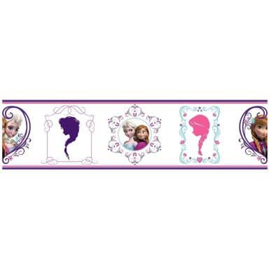 Sticker mural - Frise La reine des neiges - Princesses