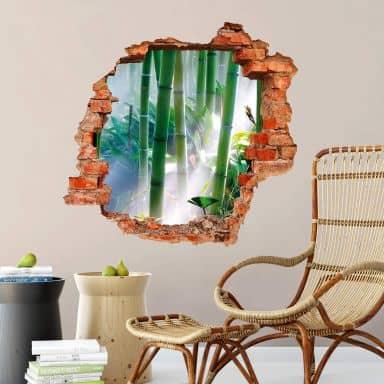 3D wall sticker Bamboo Forest