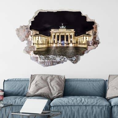 3D wall sticker Brandenburger Tor