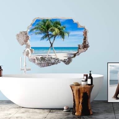 3D wall sticker Atlantic Ocean