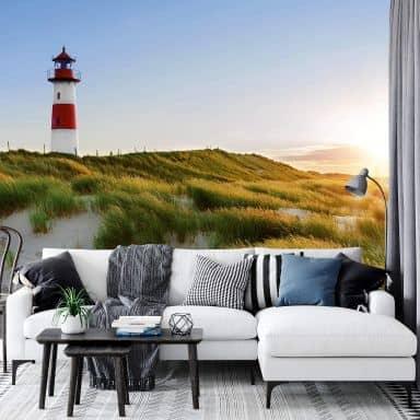 Fotobehang Papierbehang Lighthouse - 366x254 cm