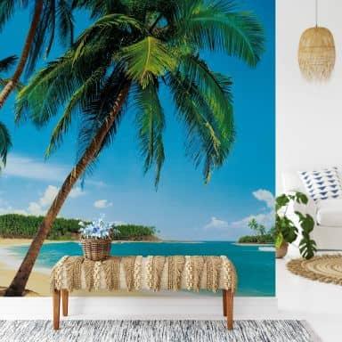 Fototapete Papiertapete Tropische Insel - 366x254 cm